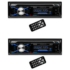 Boss In Dash Cd Car Player Usb Mp3 Stereo Audio Receiver Bluetooth (2 Pack)