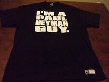 Paul Heyman Guy WWE used xl t shirt pro wrestling