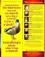"""Everything's Better with a Beard"" the Robertson Family (2014) HC 1st Edition"