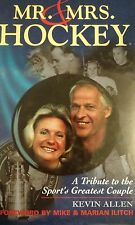 MR. AND MRS. HOCKEY~A TRIBUTE SIGNED GORDIE HOWE FIRST EDITION BOOK~DETROIT