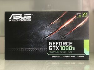 ASUS NVIDIA GEFORCE GTX 1080 TI Founder's Edition