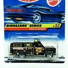1998 Hot Wheels Biohazard Series 4/4 Rescue Ranger Black 5sp Truck New #720