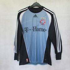 VTG FC BAYERN MUNCHEN MUNICH shirt Soccer FootbaLL JERSEY ADIDAS SZ XL BOYS BLUE