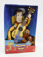 New in Box 1999 Disney Mattel Toy Story 2 Strummin' & Singin' Woody Toy Doll