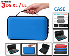 BLUE-Carry Storage Hard Protective (HANDLE) Case Cover For Nintendo 3DS XL /LL