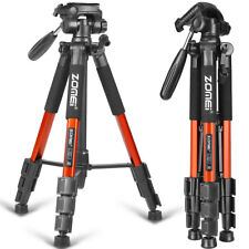 ZOMEi Q111 Portable Aluminum Tripod Stand Travel For Live Broadcast Photography