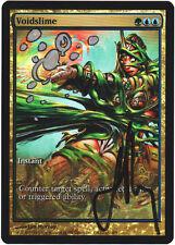 mtg magic FOIL PROMO ARTIST ALTERED SIGNED VOIDSLIME champs extended full art SP