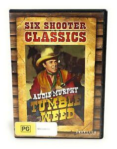 Tumbleweed (DVD, 1953) Audie Murphy Region 4 Free Postage