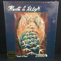 NEW Glitter Puzzle Jigsaw 2000pc Angel of Hope Marta G Wiley Andrews & Blaine