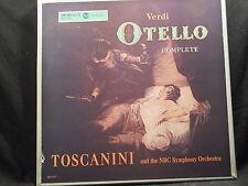 G. Verdi - Otello / Toscanini    3 LP-Box