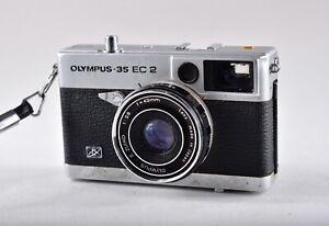 OLYMPUS 35 EC 2 Seiko ESF Zuiko 1:25 F=42mm Lens Japan Photo Camera FOR PARTS