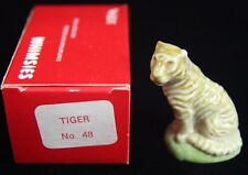 Wade....Made in England Whimsies Tiger No. 48