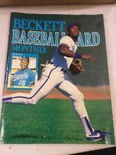 Beckett Baseball Magazine Monthly Price Guide Bo Jackson June 1989