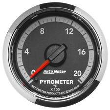 Auto Meter Boost/Pyrometer Gauge 8547; Dodge Factory Match 2000°F 2-1/16""