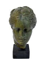 Sculptre Hygeia head statue Ancient Greek Goddess of health artifact