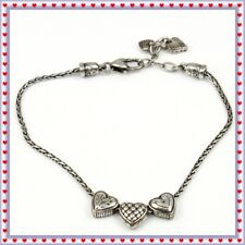 Silver Anklet Brighton Enchanted Heart