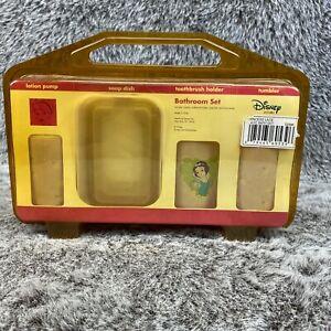Vintage Disney Princess Bathroom Set New In Box