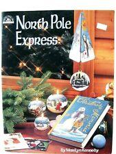 Viking Folk Art NORTH POLE EXPRESS 1996 booklet 46pg craft painting