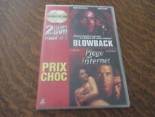 2 dvd 2 films blowback avec mario van peebles + piege sur internet un film de ma