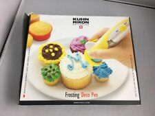 Kuhn Rikon Frosting Deco Pen 25600 Cake Cookie Cupcake Decorating Piping Tool