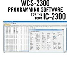 Rt Systems Wcs-2300-U Programming Software Only for the Icom Ic-2300H