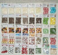 NOVELTY CHRISTMAS FILLED SWEET BAG Gift Christmas Eve Stocking Filler 47 CHOICES
