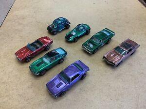 Vintage Mattel 1960's Red Line Hot Wheels Diecast Model Cars x 7 Job Lot