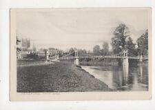 Hereford Victoria Bridge Vintage Peacock Postcard 814a