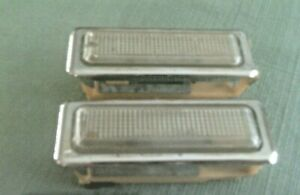 JEEP AMC NOS VINTAGE TWO (2) INTERIOR LIGHT SWITCHES MADE IN FRANCE 3 1/2 X1 1/4
