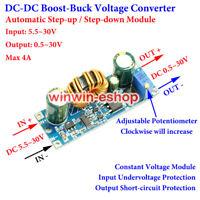 DC-DC Step Up Down Adjustable Voltage Converter 3A 3.3V 5V 12V Boost Buck Module