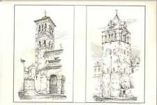 1884 Leon Spain San Isidoro Toledo  San Roman Jws Burmester Architectural Art