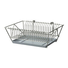Brand New  IKEA Dish Drainer Dryer Holder Rack Removable Tray