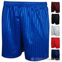 Mens Football Shorts Shadow Stripe S M L XL XXL
