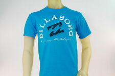 "BILLABONG MEN'S BLUE PREMIUM GRAPHIC T-SHIRT W/""KNOW THE FEELING"" size Small"