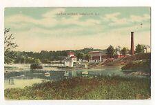 Water Works, Danville Il - Vintage 1909 Illinois Postcard