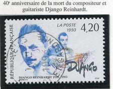 STAMP / TIMBRE FRANCE OBLITERE N° 2810 DJANGO REINHARDT