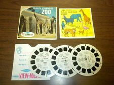SAN DIEGO ZOO CALIFORNIA (A173) Viewmaster 3 reels PACKET SET