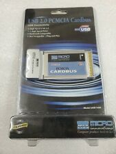 Micro Innovations Usb 2.0 Pcmcia Cardbus 2 High Speed Ports for Laptop Handheld
