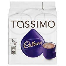 24 DRINKS PACK TASSIMO CADBURY HOT CHOCOLATE T DISCS, 24 Servings loose Pods.