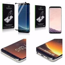 Samsung Galaxy S8  Fitted Curved Screen Protector Crystal Definition HD 9H Glass