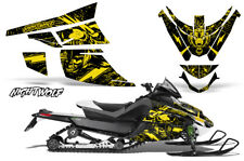 Arctic Cat Z1 Turbo Decal Graphics Kit Sled Snowmobile Wrap 06-12 NIGHTWOLF YLLW
