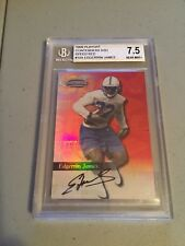 199PLAYOFF CONTENDERS RED SIGNATURE Edgerrin James Rookie Card RC #/100 BGS 7.5
