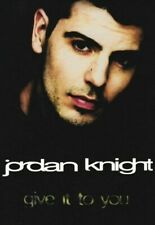 Jordan Knight - Give It To You -factory sealed cassette