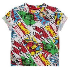 Abbigliamento multicolore grafici per bambini dai 2 ai 16 anni
