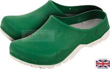 Clogs Men's / Women's Slip On Garden Clog Mule Work Shoes, Green Garden Shoes