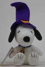 Peanuts Hallmark 50 Years Snoopy Plush with Pumpkin Choker Nwt