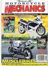 Classic Motorcycle Mechanics magazine excellent condition August 2000 No.154