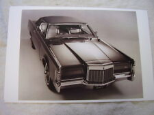 1969 LINCOLN  MARK  III   11 X 17  PHOTO  PICTURE