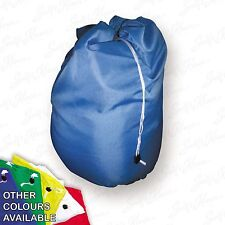 Blue Extra Large Heavy Duty Laundry Bag Sack with Drawstring Commercial Washable