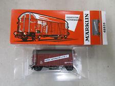 MÄRKLIN HO 48835 : Fourgon série limitée en état neuf, limited, mint and boxed.